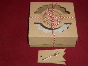 Gastgeschenke Hochzeit Kartonagen Box Bonbonieren Gastgeschenk Keksbox - Handarbeit kaufen