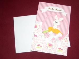 3D Osterkarte Glückwunschkarte Grusskarte Ostern Karte Osterhase Grußkarte - Handarbeit kaufen