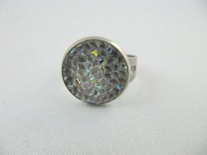 Ring Crystal Rocks Crystal AB - Handarbeit kaufen