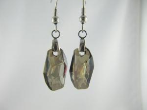 Ohrringe Meteor Iridescent Green (644) - Handarbeit kaufen