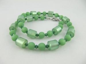 Kette Polarisperlen Grün Polariskette (641) - Handarbeit kaufen