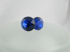 Ohrstecker Chaton Blau Majestic Blue - Handarbeit kaufen