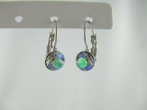 Ohrringe Brisur Kristalle Crystal Paradise Shine - Handarbeit kaufen