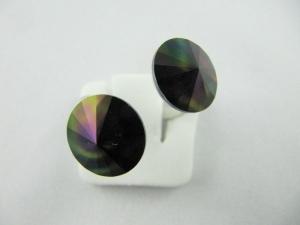 Ring Rivoli Rainbow Dark - Handarbeit kaufen