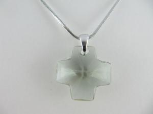 Kette Kreuz Black Diamond (644) - Handarbeit kaufen