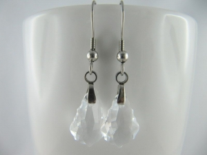 Ohrringe Barock Crystal  (644) - Handarbeit kaufen
