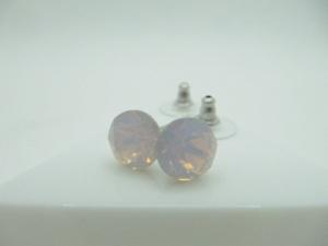 Ohrstecker Chaton Rose Opal - Handarbeit kaufen