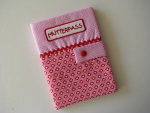 ♥ Mit Liebe genähte Mutterpasshülle mit Innenfach ♥   - Handarbeit kaufen