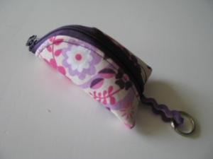 ♥ Mit Liebe genähtes Schlüsselanhängertäschchen mit Reißverschluss ♥   - Handarbeit kaufen