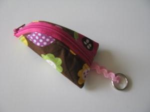 ♥ Mit Liebe genähtes Schlüsselanhängertäschchen mit Reißverschluss ♥   (Kopie id: 100242208) - Handarbeit kaufen