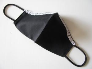 ♥ Mit Liebe genähter Behelfs-Mund-Nasen-Maske/Community-Maske ♥  Einheitsgröße ♥ KEIN SCHUTZ GEGEN VIREN ♥   - Handarbeit kaufen