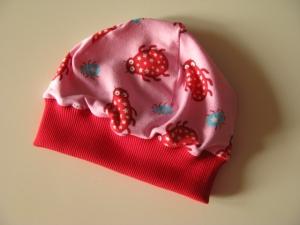 ♥ Mit Liebe genähte Baby-Mütze ♥  Gr. 56/62  - Handarbeit kaufen