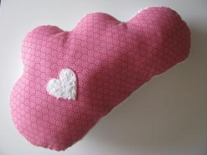 ♥ Mit Liebe genähtes Wolkenkissen/ Babykissen/ Namenskissen ♥ - Handarbeit kaufen