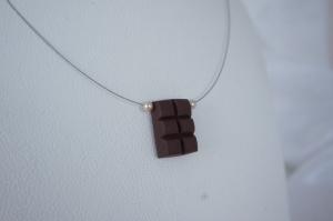 Schokoladenkette - Collier mit Schokolade - Schoko-Schmuck - Handarbeit kaufen