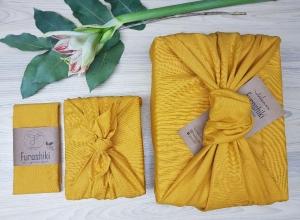 Furoshiki | Senf Geschenkverpackung aus Stoff Made in Deutschland