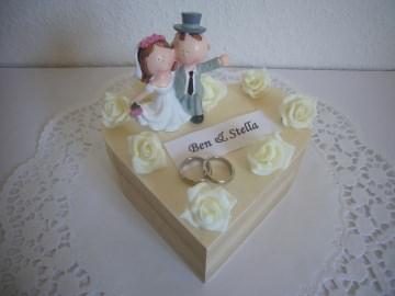 Geldgeschenk Hochzeit Herz Hochzeitsgeschenk Schatulle