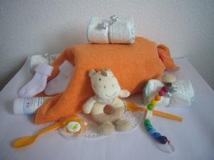 Windeltorte Karneval Überraschung Fasching Fasnet Babyparty Knallbonbon - Handarbeit kaufen
