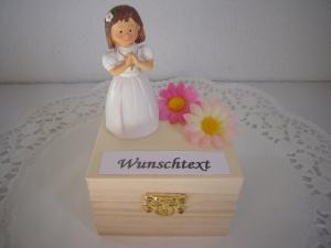 Geldgeschenke Mädchen Kommunion Konfirmation Firmung Geschenkbox Holz Geld schenken Geschenk