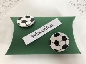 Geldgeschenk Fußball Sport Geld Gutschein Karten verschenken Geburtstag Weihnachten Ostern Kommunion Konfirmation Firmung Jungendweihe - Handarbeit kaufen