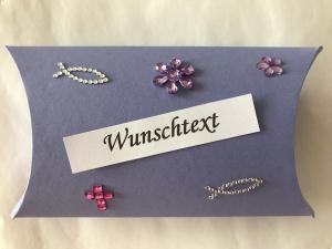 Geldgeschenk Kommunion Konfirmation Firmung Jugendweihe Mädchen Geld Gutschein verschenken - Handarbeit kaufen