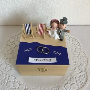Flitterwochen Hochzeitsreise Geldgeschenk Hochzeit Flittergeld Reise Urlaub Meer Strand Hochzeitsgeschenk - Handarbeit kaufen