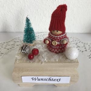 Weihnachten Geldgeschenk Männer Mann Junge Geburtstag Nikolaus Ski fahren Weihnachtsgeschenk Geld verschenken Wintersport Winterlandschaft Schnee - Handarbeit kaufen