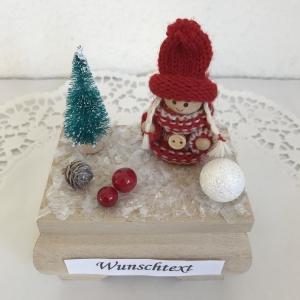 Weihnachten Frau Mädchen Geldgeschenk Nikolaus Geburtstag Gutschein Ski fahren Weihnachtsgeschenk Winter - Handarbeit kaufen