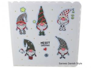 Süße Weihnachtskarte, Frohe Weihnachten, Weihnachtsgrüße mit englischen Text. Weihnachtsgrüße, die Karte ist ca. 15 x 15 cm - Handarbeit kaufen