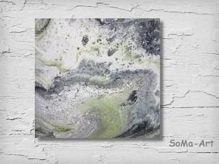 Acrylbild  ☆Swirl☆ Kunst, Malerei, Wandbild, ** SoMa_Art