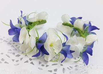 Armband aus Blumen Blumenarmband