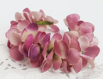 Armband aus Blumen Blumenarmband  Armreif aus Blüten