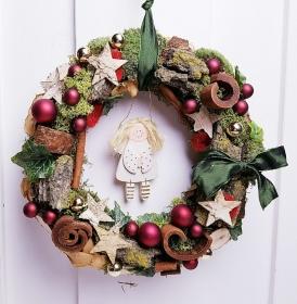 Türkranz Weihnachten Weihnachtskranz Engel
