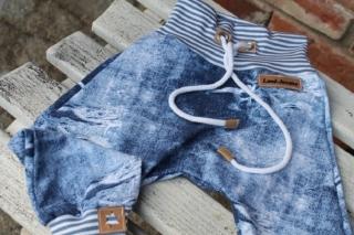 ★ Pumphose Jeanshose blau ★ jeansstyle Wunschgröße