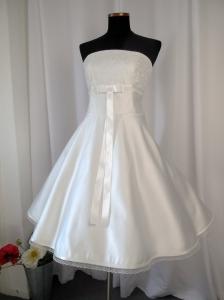 Brautkleid Hochzeitskleid Sally im 50er Jahre Stil