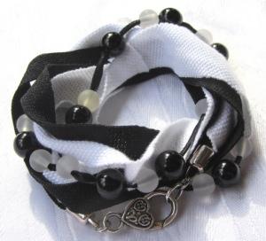 Wickelarmband entworfen und handgemacht aus Baumwolljersey kaufen
