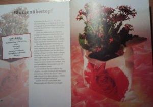 Bastelbuch Blumenschmuck