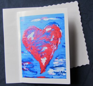 Grußkarte Faltkarte Liebe und Hoffnung fotografiert und handgefertigt kaufen