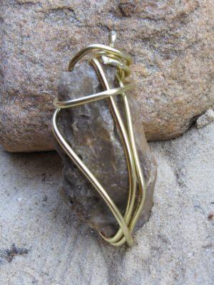 Kettenanhänger Stein handgefertigt kaufen