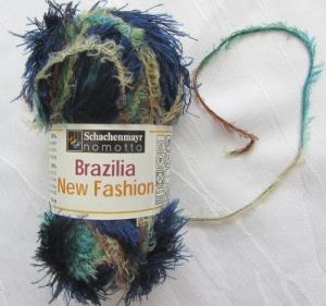 Fransenwolle Strick- und Häkelwolle Brazilia New Fashion in Blau-Türkis von Schachenmayr Nadelstärke 4,5 - 5,5 mm (Grundpreis 100 g/4,60 €) kaufen - Handarbeit kaufen