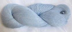 Leinengarn  in Hellblau ohne Banderole zum Häkeln und Stricken Nadelstärke 1,5 - 2 mm (Grundpreis 100 g/4,50 €)  kaufen