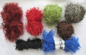 Fransenwolle Wollpaket in verschiedenen Farben zum Häkeln oder Stricken oder Basteln (Grundpreis 100 g/3,39 €) kaufen