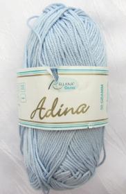 Baumwolle  Adina von Rellana in der Farbe Hellblau zum Häkeln und Stricken Nadelstärke 3 - 4 mm (Grundpreis 100 g/3,70 €)  kaufen - Handarbeit kaufen