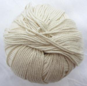 Baumwolle  CIRCULO YARNS  in der Farbe Creme zum Häkeln und Stricken Nadelstärke 2,5 - 3,5 mm (Grundpreis 100 g/2,00 €) kaufen - Handarbeit kaufen