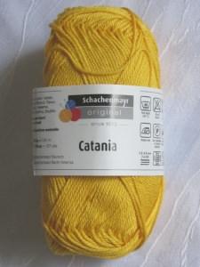 Baumwolle Catania von Schachenmayr  in der Farbe Sonne zum Häkeln und Stricken kaufen