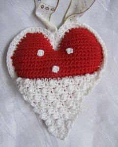 Herz ♡ Nikolaus als Geschenk oder zum Aufhängen als Dekoration zu Weihnachten und Nikolaus kaufen - Handarbeit kaufen