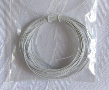Schmuckdraht Draht weiß 10 m zur Herstellung von Schmuck kaufen
