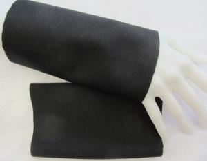 Handgefertigte Stulpen Armstulpen Pulswärmer ♥ genäht aus festem Jerseystoff in Schwarz für festliche Anlässe oder als Ärmelverlängerung  kaufen - Handarbeit kaufen
