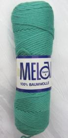 Baumwolle Melanie (Grundpreis 100 g/3,00 €) in Grün zum Häkeln und Stricken kaufen - Handarbeit kaufen