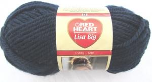 Wolle Lisa Big von Red Heart in der Farbe Indigo  (Grundpreis 100 g/3,00 €) dicke Wolle zum Häkeln und Stricken kaufen