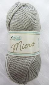Wolle Microfaserwolle in der Farbe Grau  (Grundpreis 100 g/3,20 €) von Rellana zum Häkeln und Stricken kaufen - Handarbeit kaufen
